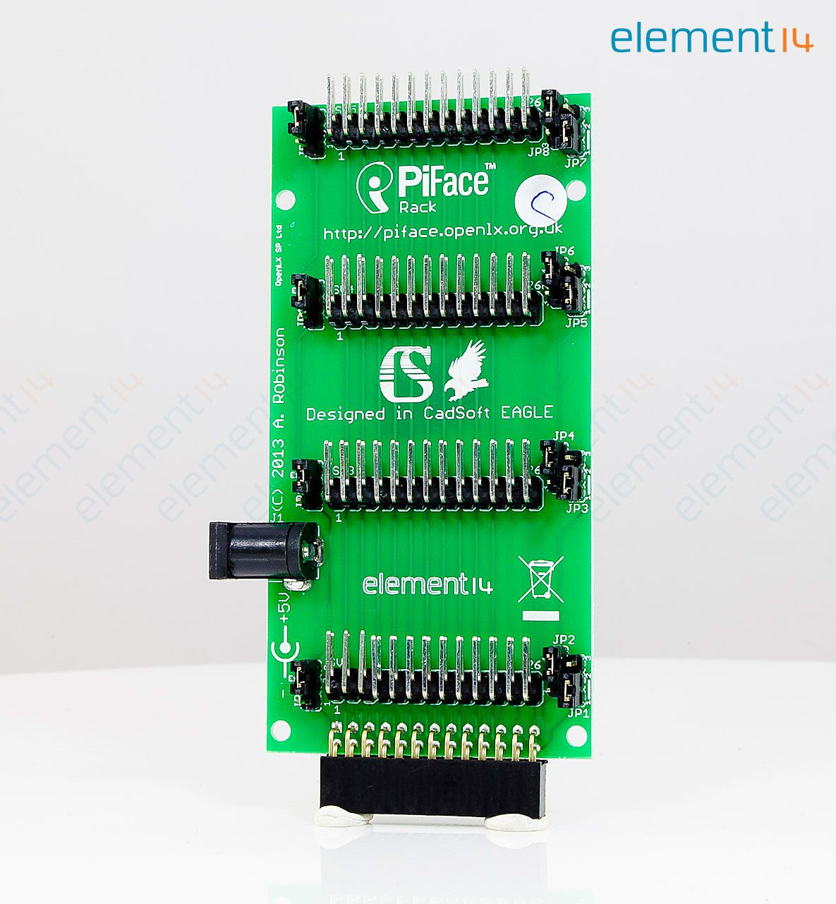 Pirack Piface Accessory Board Circuit Rack For Raspberry Pi Electronic Boardcircuit Power Supply Image Is Illustrative Purposes Only Please Refer To Product Description
