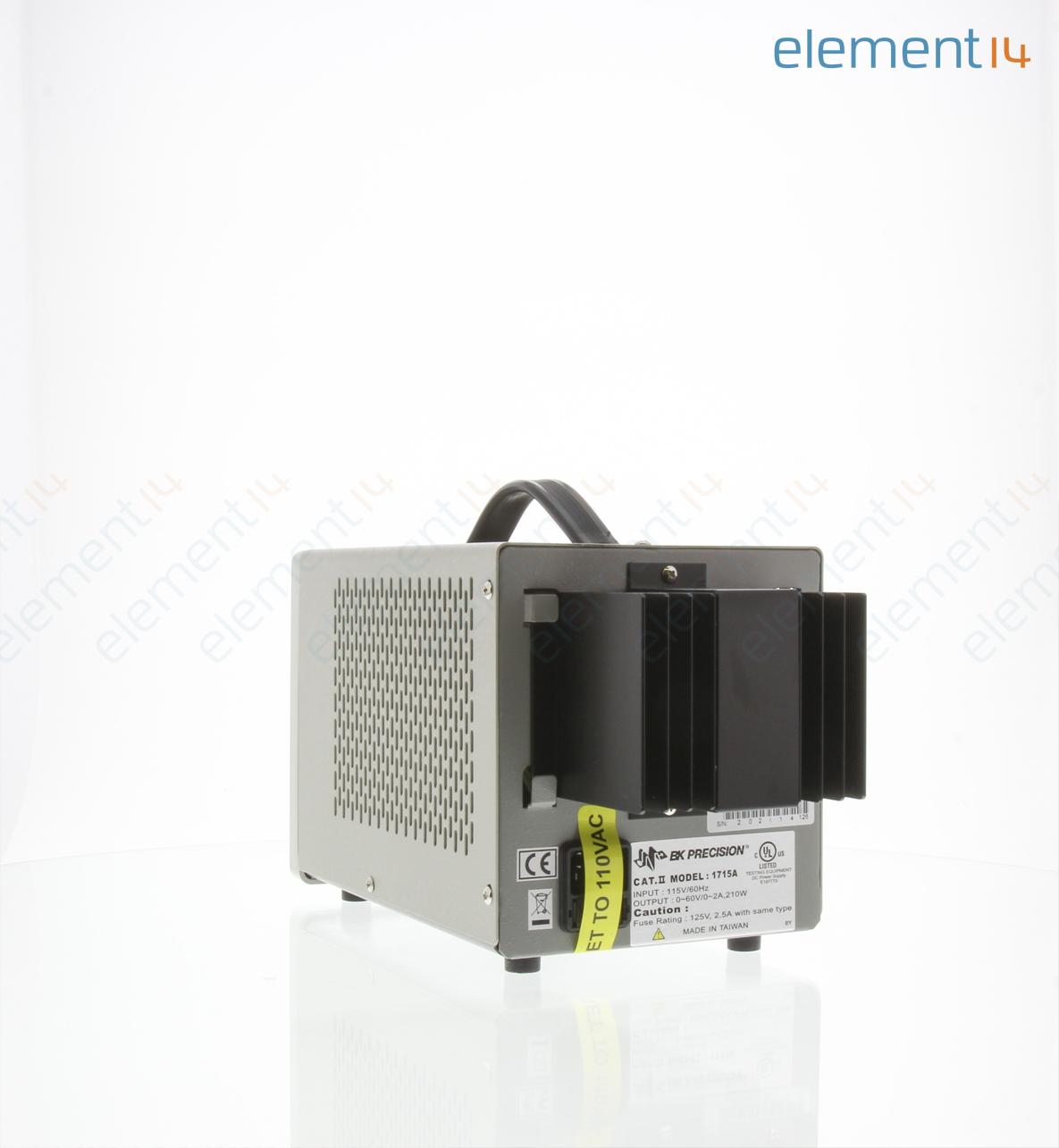 1715a B K Precision Bench Power Supply Single Adjustable 1 Output 0 V 60 V 0 A 2 A