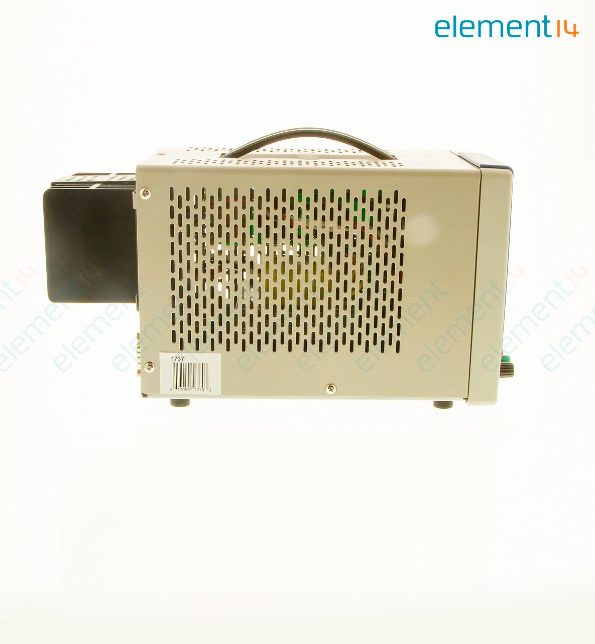 1737 Bk Precision Bench Power Supply Single Adjustable 0 30v0 2a Voltage And Current Regulator 1 Output V 60 A 3