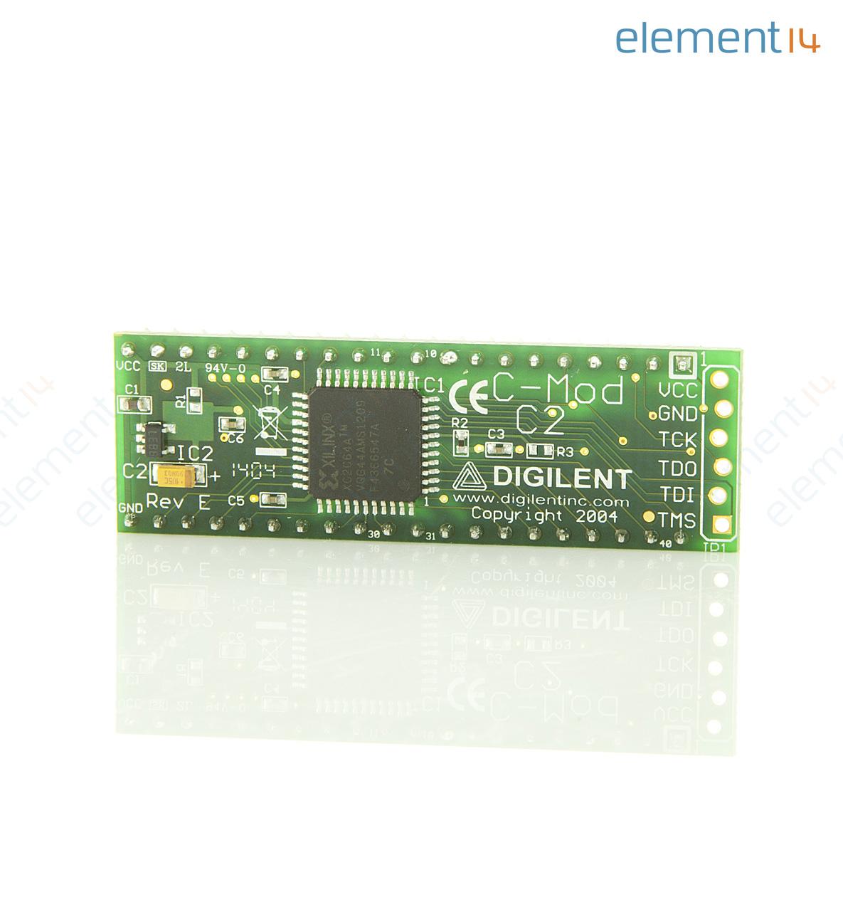 410 047 C2 Digilent Xilinx Cpld 40 Pin Dip Jtag Cable Schematic Usb C Mod Board