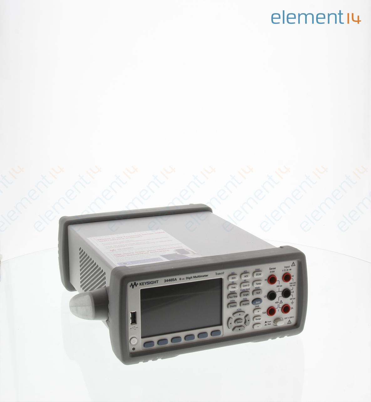 34465a Keysight Technologies Bench Digital Multimeter Truevolt Quot Stereo Phone Plug Further Circuit Diagram Richmedia 338kb En
