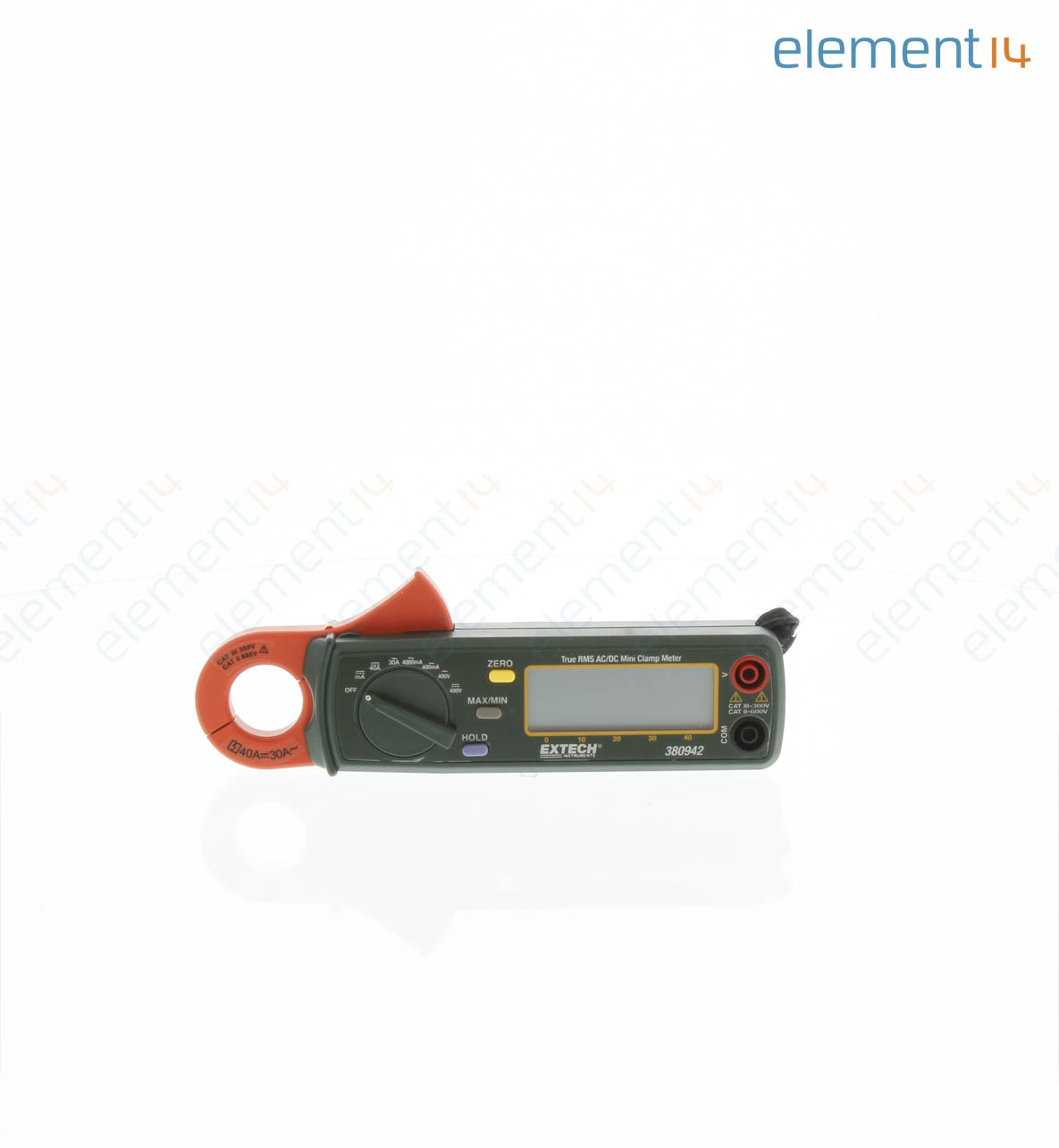 380942 Extech Instruments Clamp Meter Ac Dc Current Voltage And Circuits 30 A 400 V True Rms
