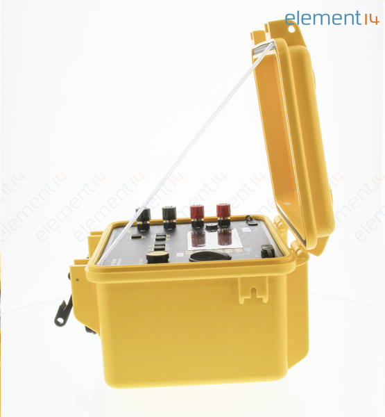 4 Wire Ohmmeter : Aemc ohmmeter micro wire