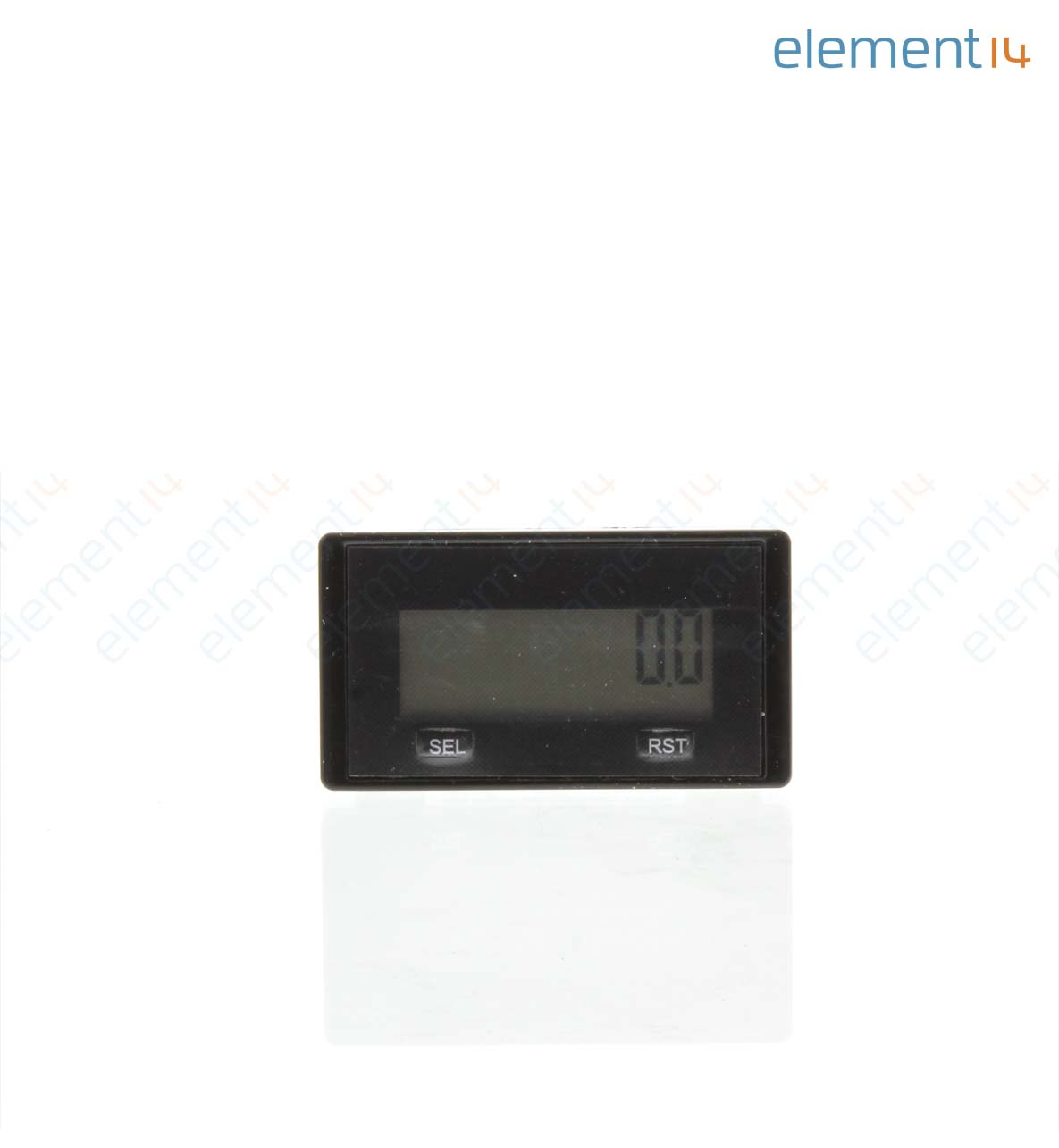 Hour Meters Panel : Redington counters dual lcd hour meter