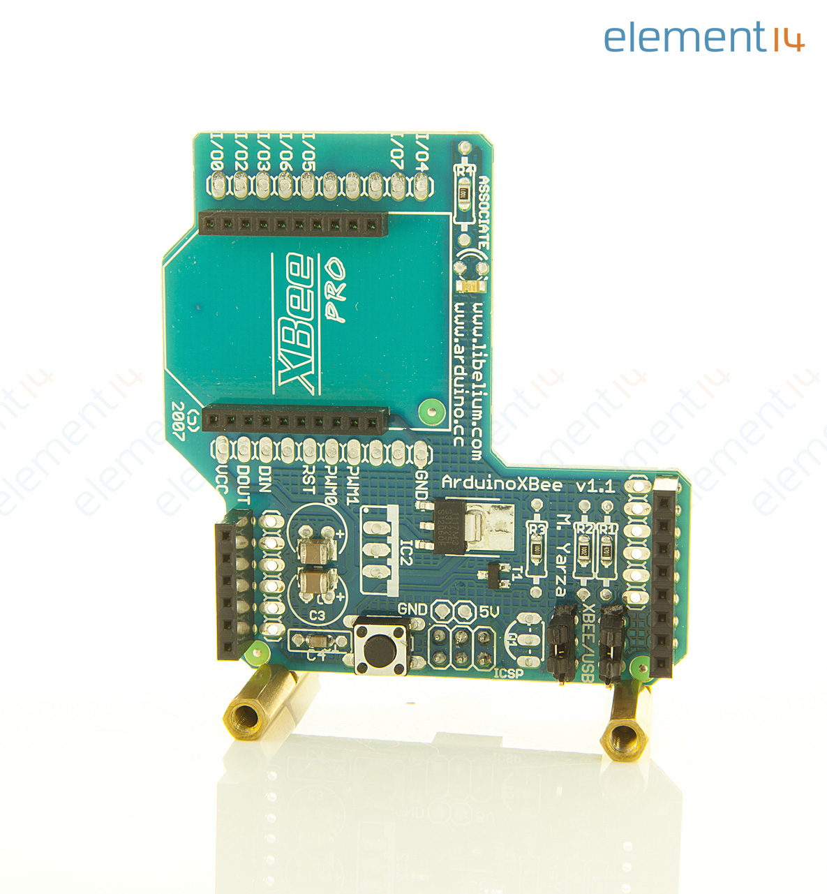 A arduino xbee shield for without rf module