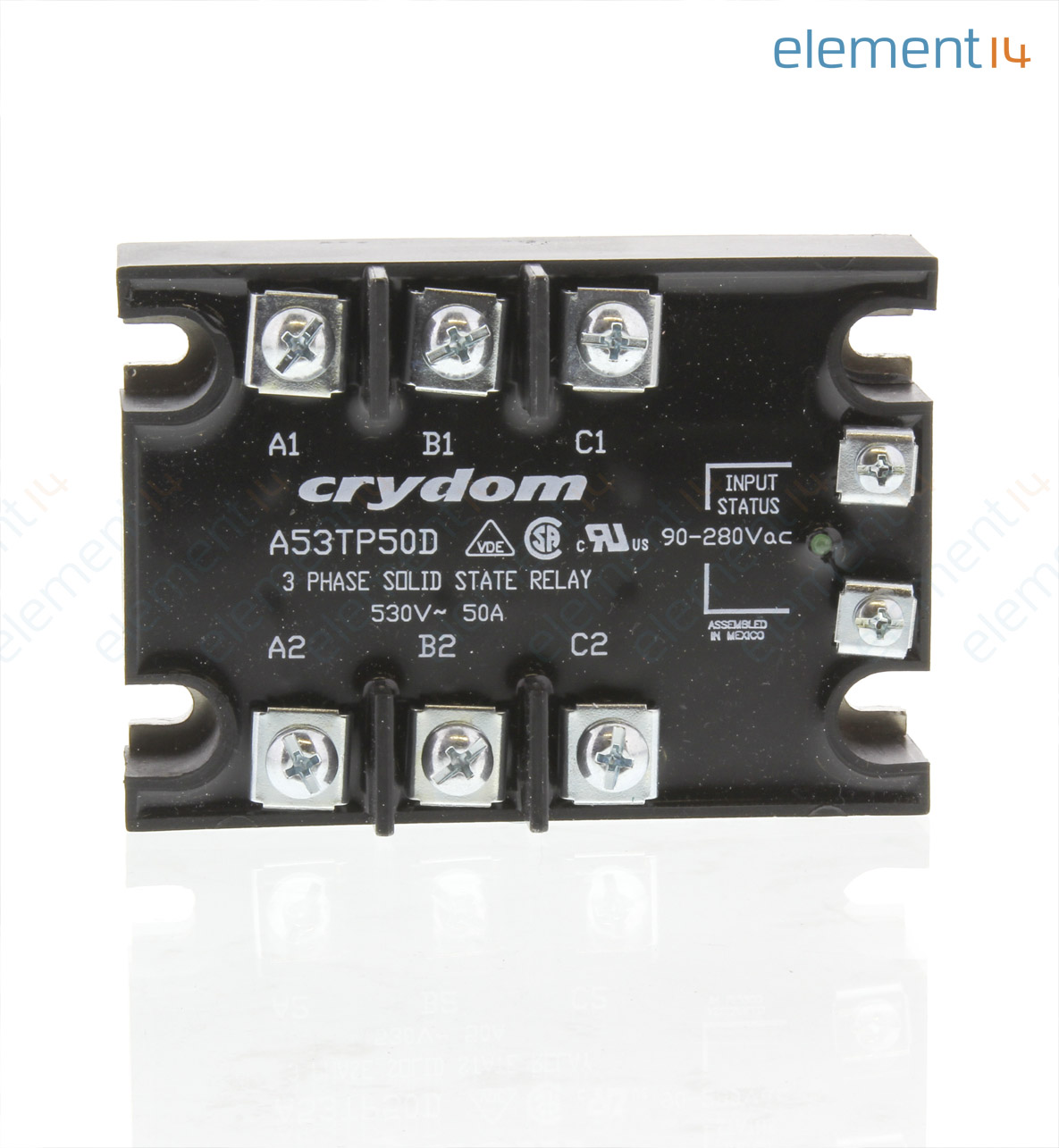 A53tp50d Sensata Crydom Ssr 50a Solid State Relay Brands Add To Compare