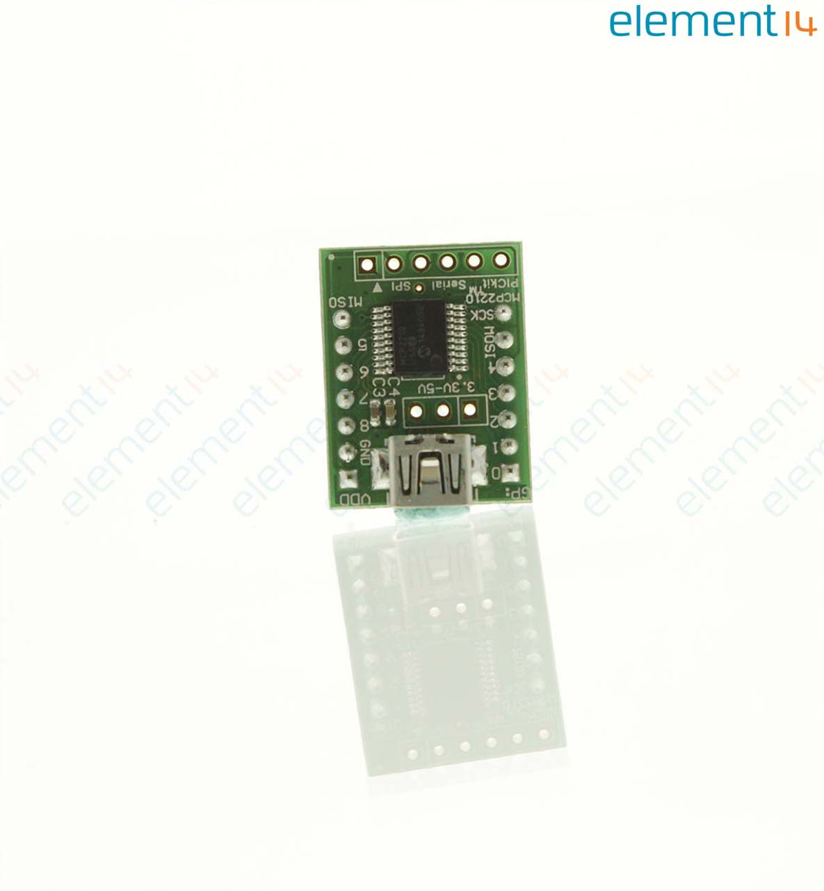 Breakout Module, MCP2210 USB to SPI Master Converter, Used with MCP2210  Motherboard