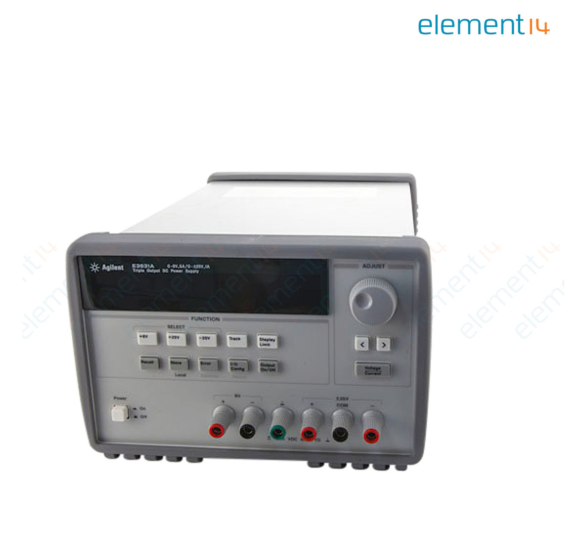 E3631a Keysight Technologies Bench Power Supply Programmable 3 Output Selecting And Using Rs 232 Interface Parts For Your Voltages Richmedia 374kb En