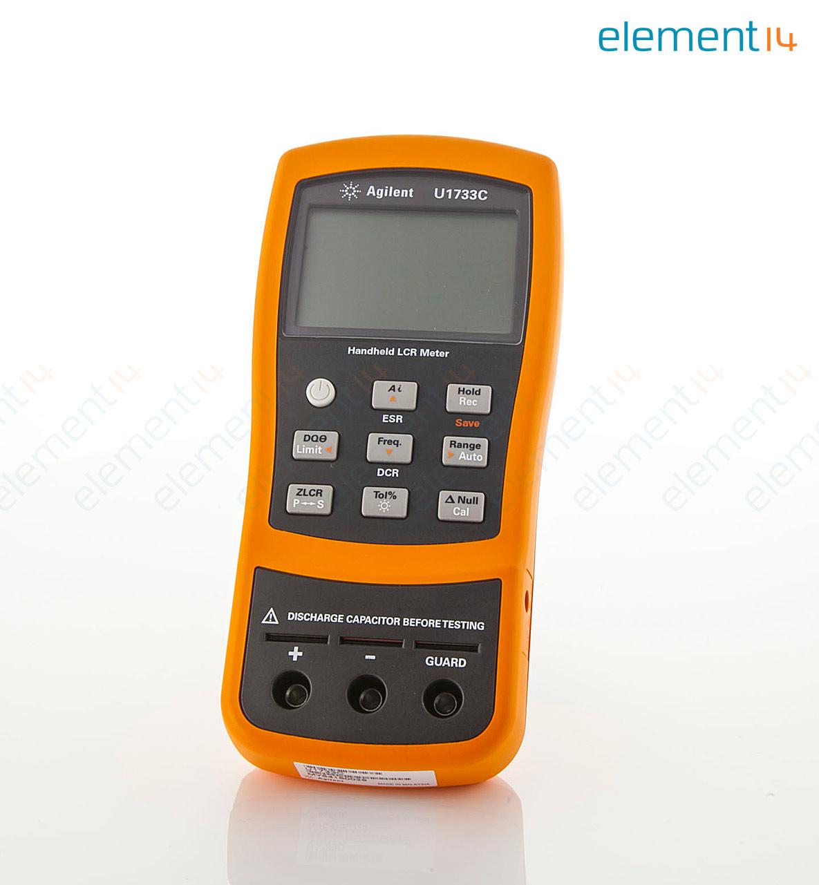 U1733c Keysight Technologies Lcr Meter Hand Held 100 Khz Q Block Diagram 2 Kh 20 Pf 02 Gohm U1730c Series