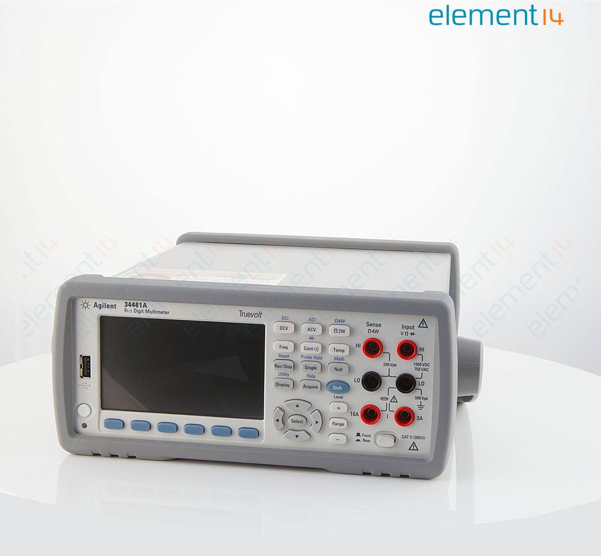 34461a Keysight Technologies Bench Digital Multimeter Truevolt Quot Stereo Phone Plug Further Circuit Diagram Richmedia 9400b En