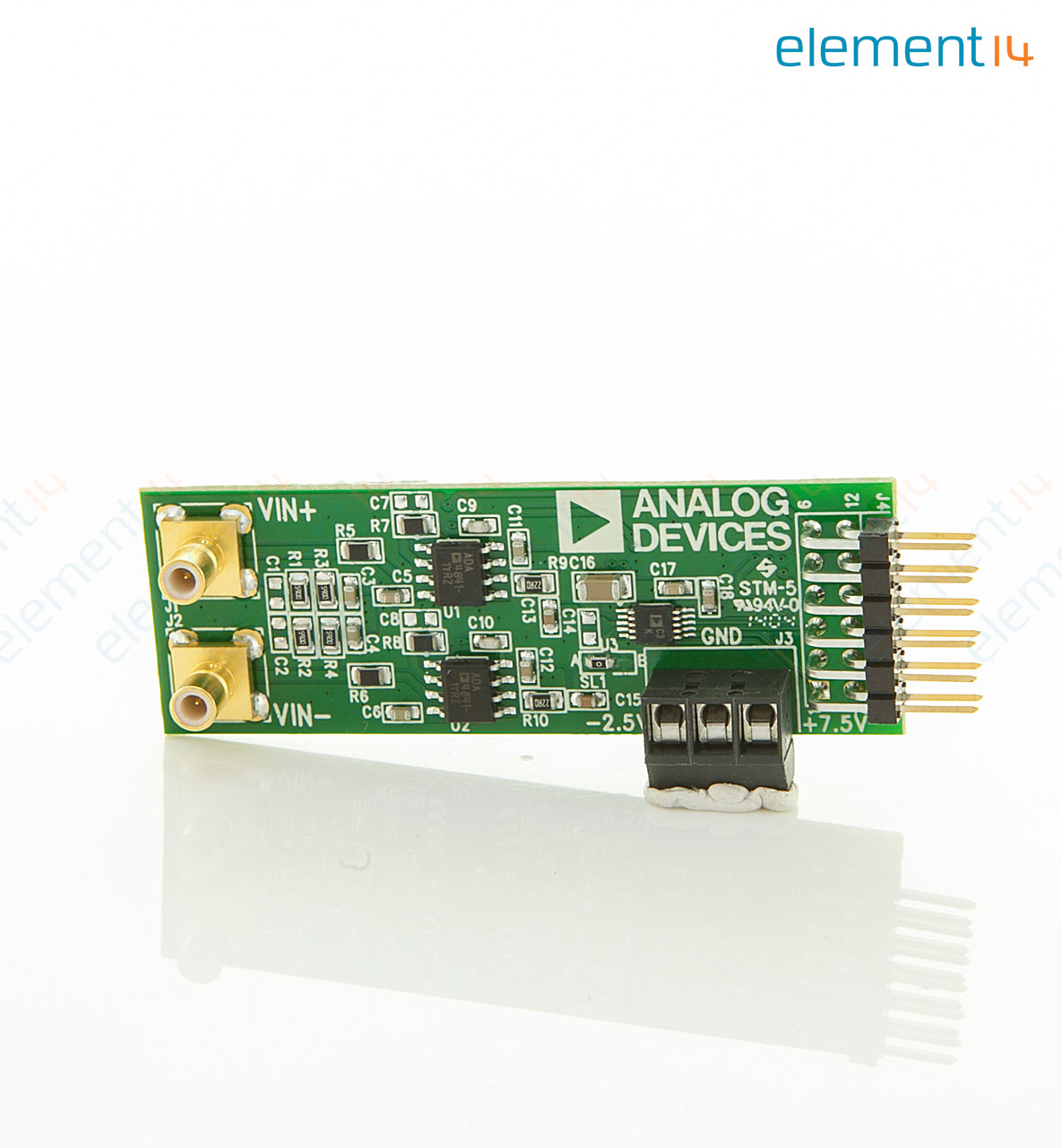 Eval Ad7688 Pmdz Analog Devices Evaluation Module 16bit 500ksps Electronics Learning Circuits Webonly Products Technology Add To Compare