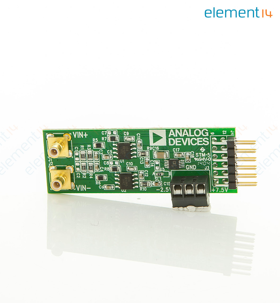 Eval Ad7982 Pmdz Analog Devices Evaluation Board 18 Bit To Digital Converters Microcontrollers Add Compare