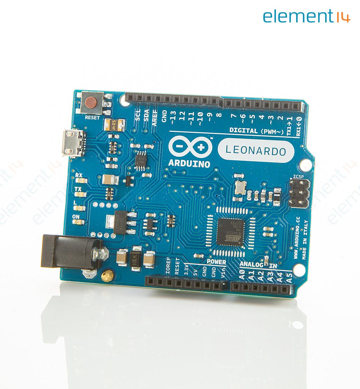 A arduino development board leonardo