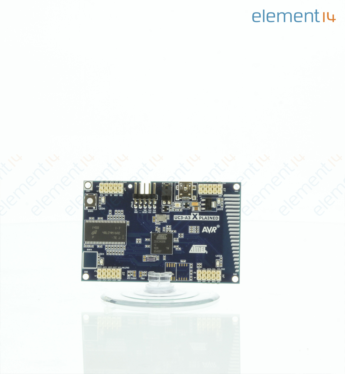 At32uc3a3 Xpld Microchip Evaluation Kit At32uc3a3256 Mcu High Atmel Avr Family Expanded Richmedia 9400b En