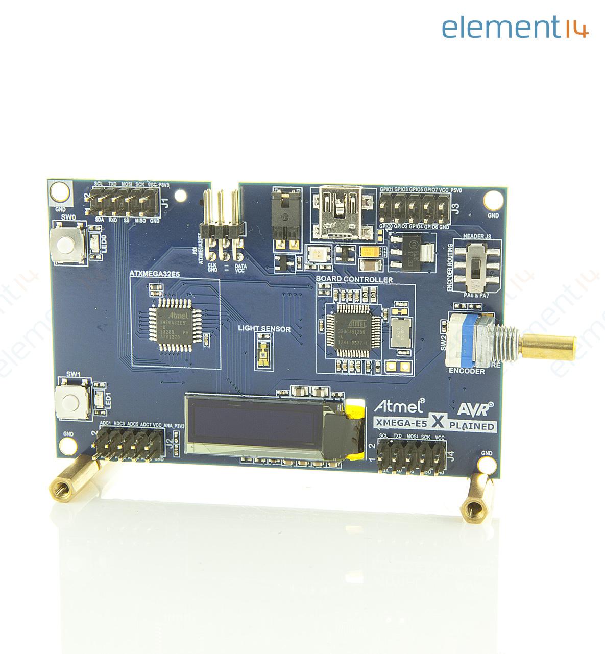 Atxmegae5 Xpld Microchip Development Kit Atxmega32e5 Avr Mcu Atmel Family Expanded Richmedia 346kb En