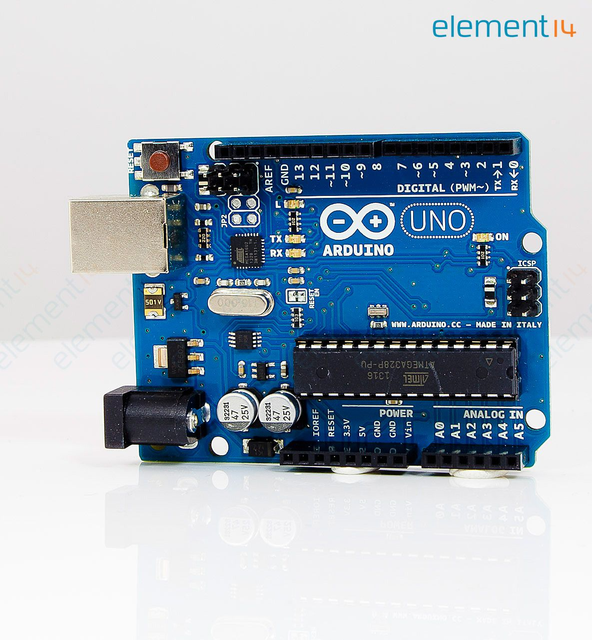 A arduino development board uno
