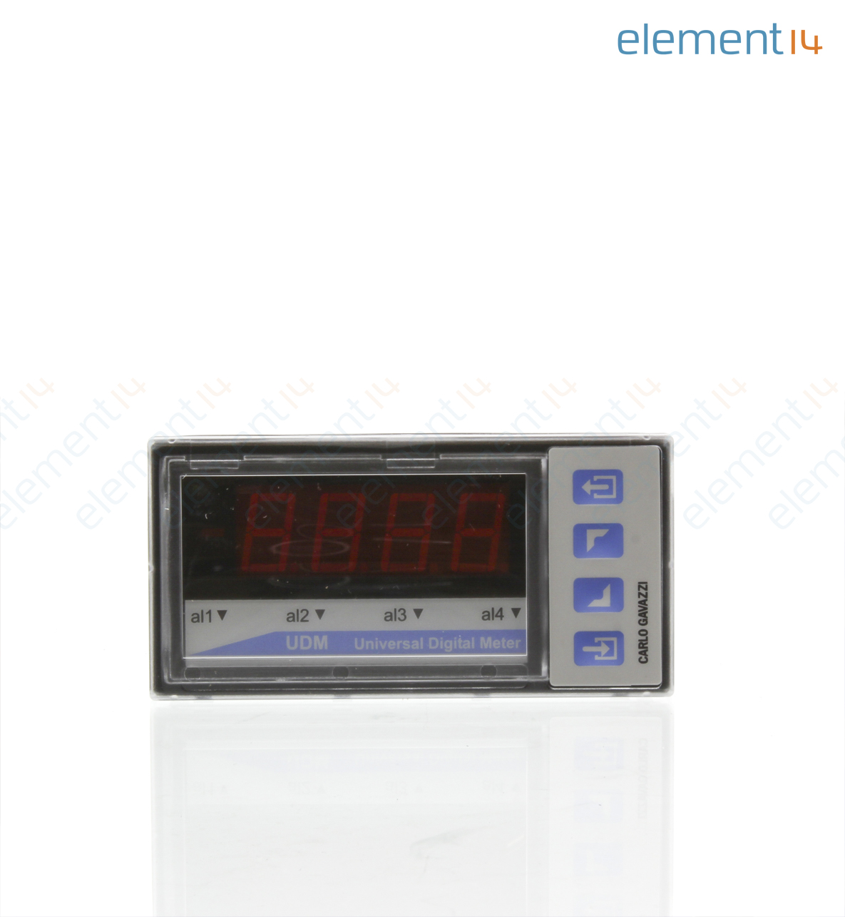 Multifunction Panel Meter : Bd carlo gavazzi digital panel meter modular