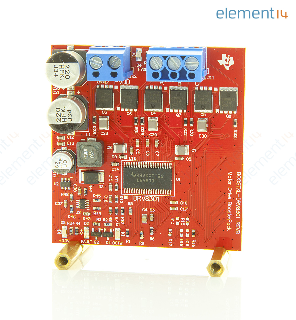 Boostxl Drv8301 Texas Instruments Evaluation Board