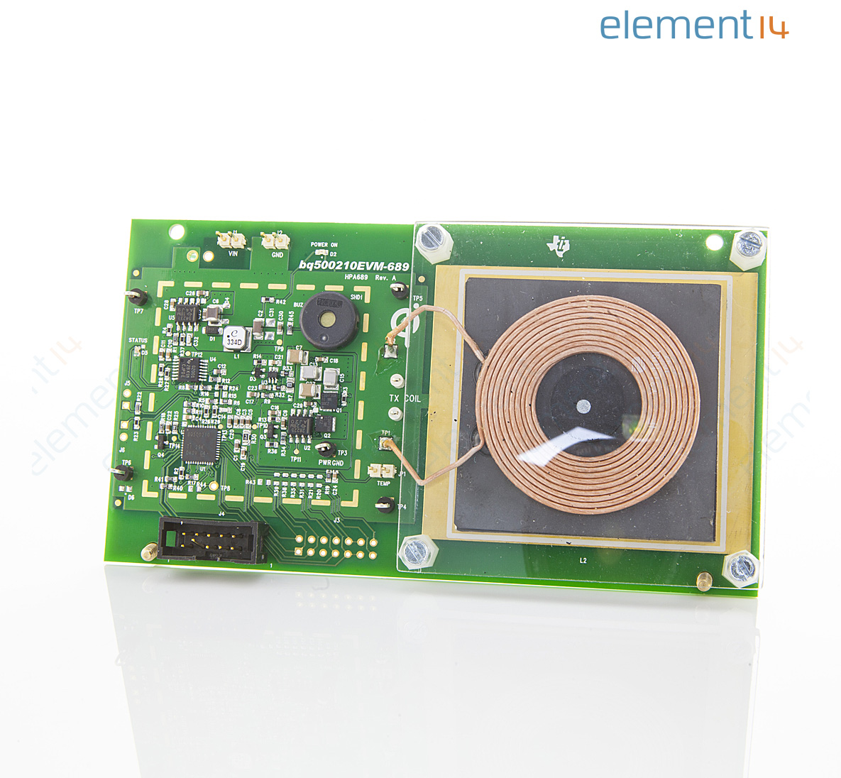 Bq500210evm 689 Texas Instruments Evaluation Module Bq500210 Qi Wireless Power Transmitter Circuit Compliant Manager
