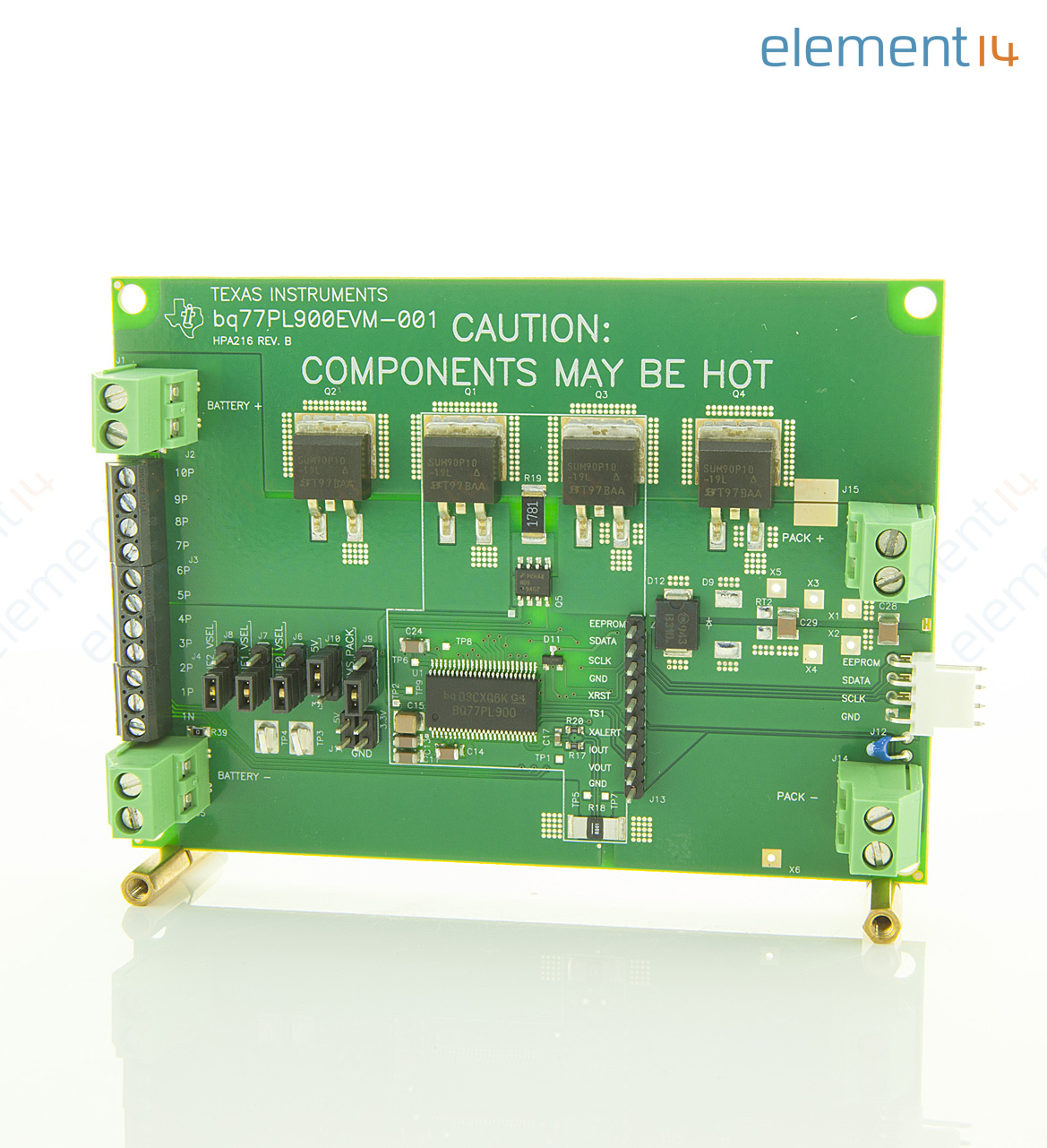 Bq77pl900evm 001 Texas Instruments Evaluation Board Bq77pl900 5 To 3m Small Outline Integrated Circuit Test Clips Sotc8 Add Compare