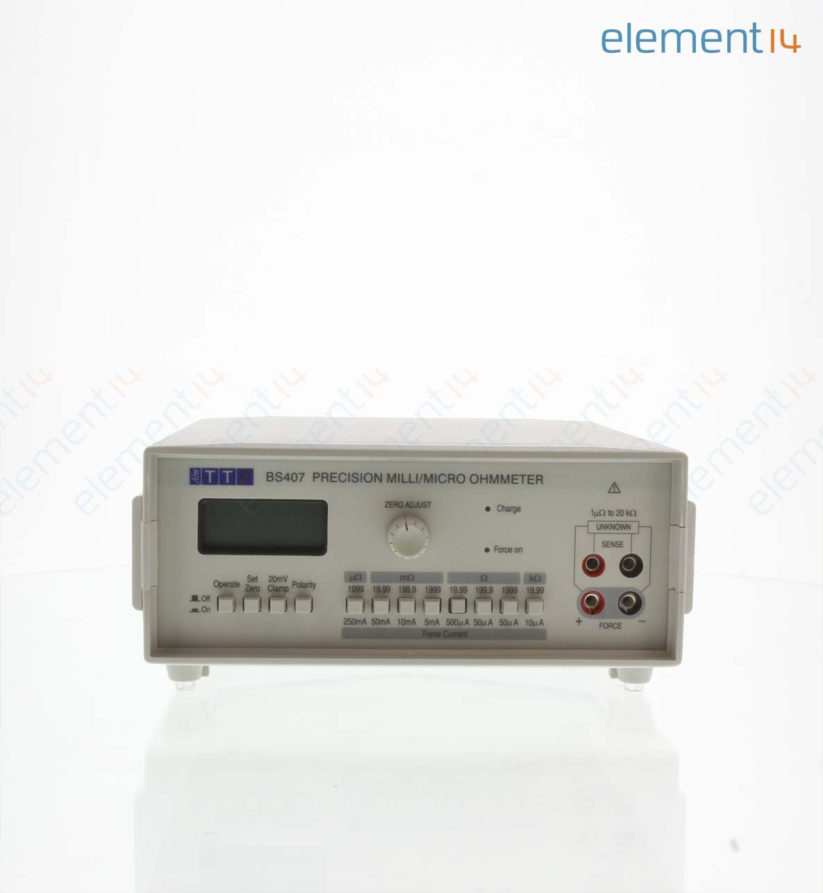 4 Wire Ohmmeter : Bs aim tti instruments ohmmeter wire uohm to kohm