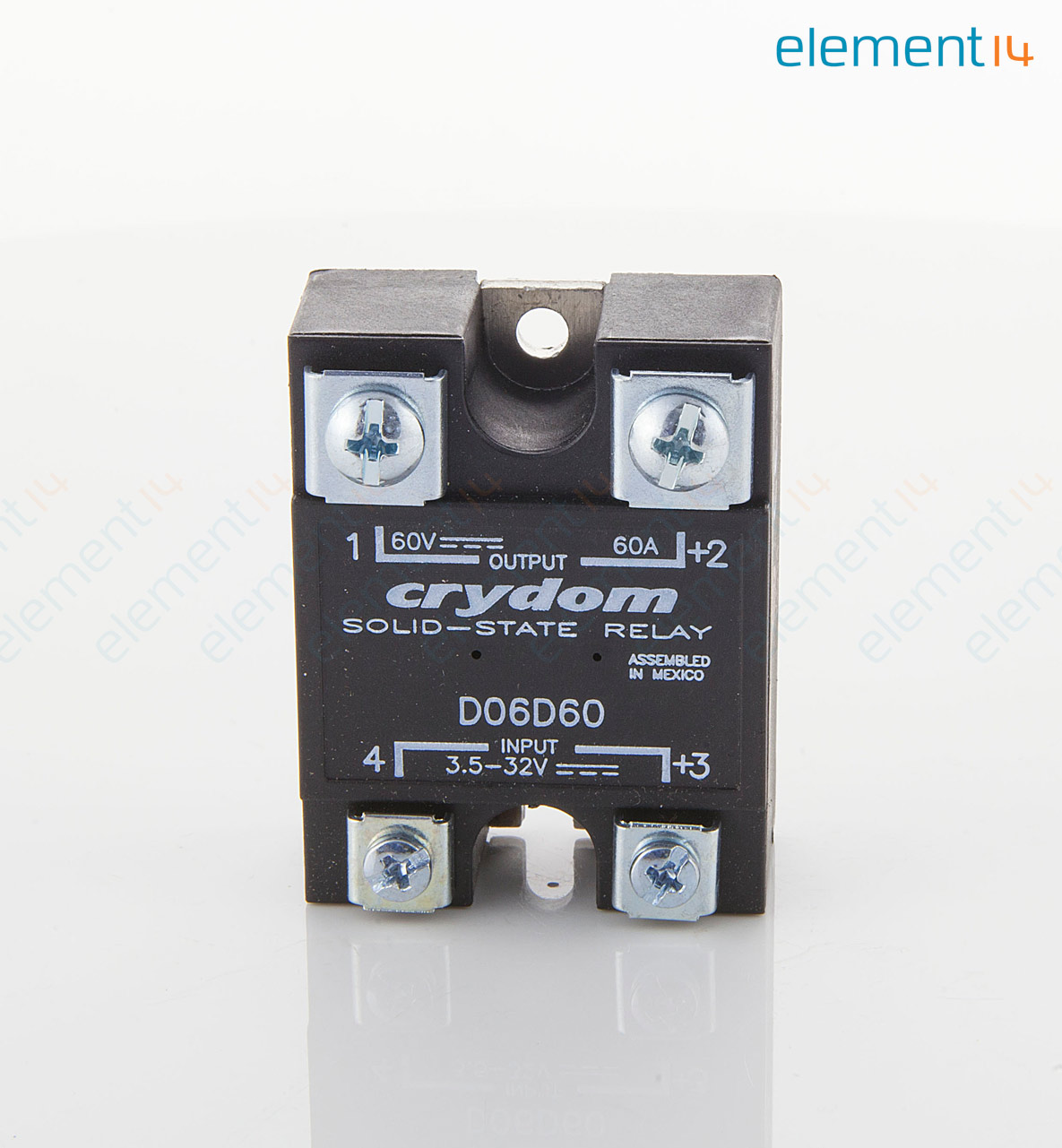 D06d60 Sensata Crydom Solid State Relay Spst No 60 A Switch Add To Compare