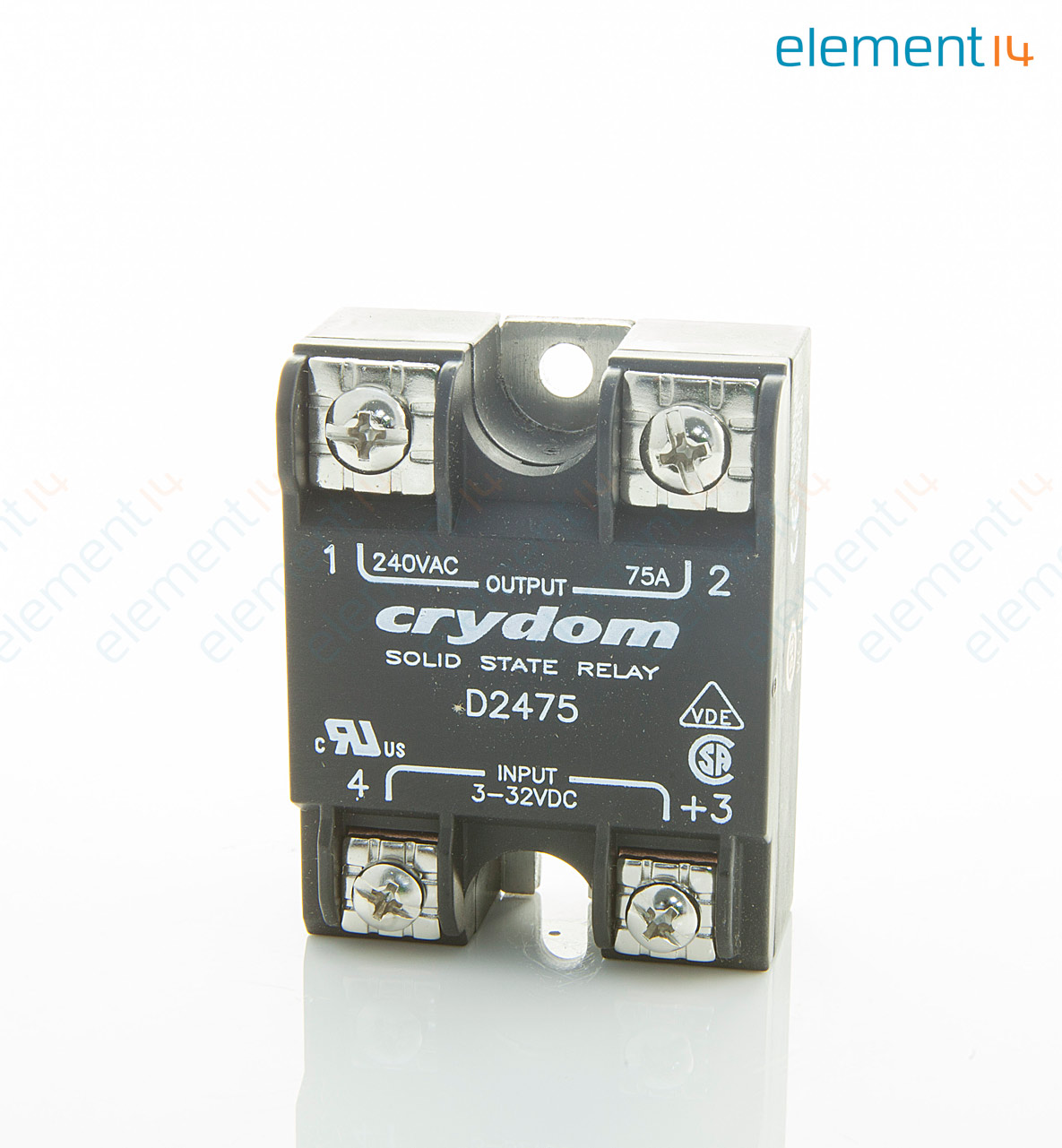 Opto 22 Ssr Wiring Diagram Library Solid State Relay Z240d10 D2475 Sensata Crydom Spst No 75 A Add To Compare