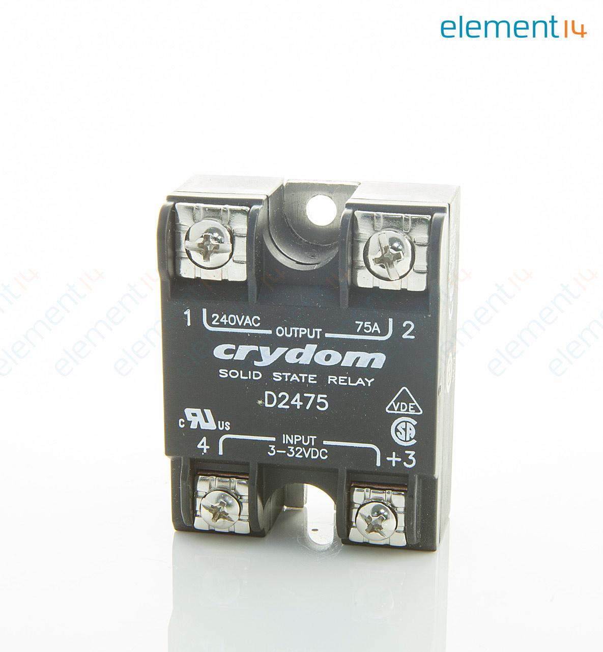D2475 SENSATACRYDOM SSR PANEL MOUNT 280VAC