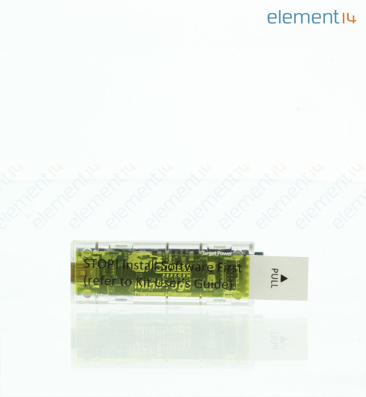 Cy8ckit 002 Cypress Semiconductor Miniprog3 Program Debug Kit Usb Cable Schematic Psoc 10 Pin Jtag Header Ribbon