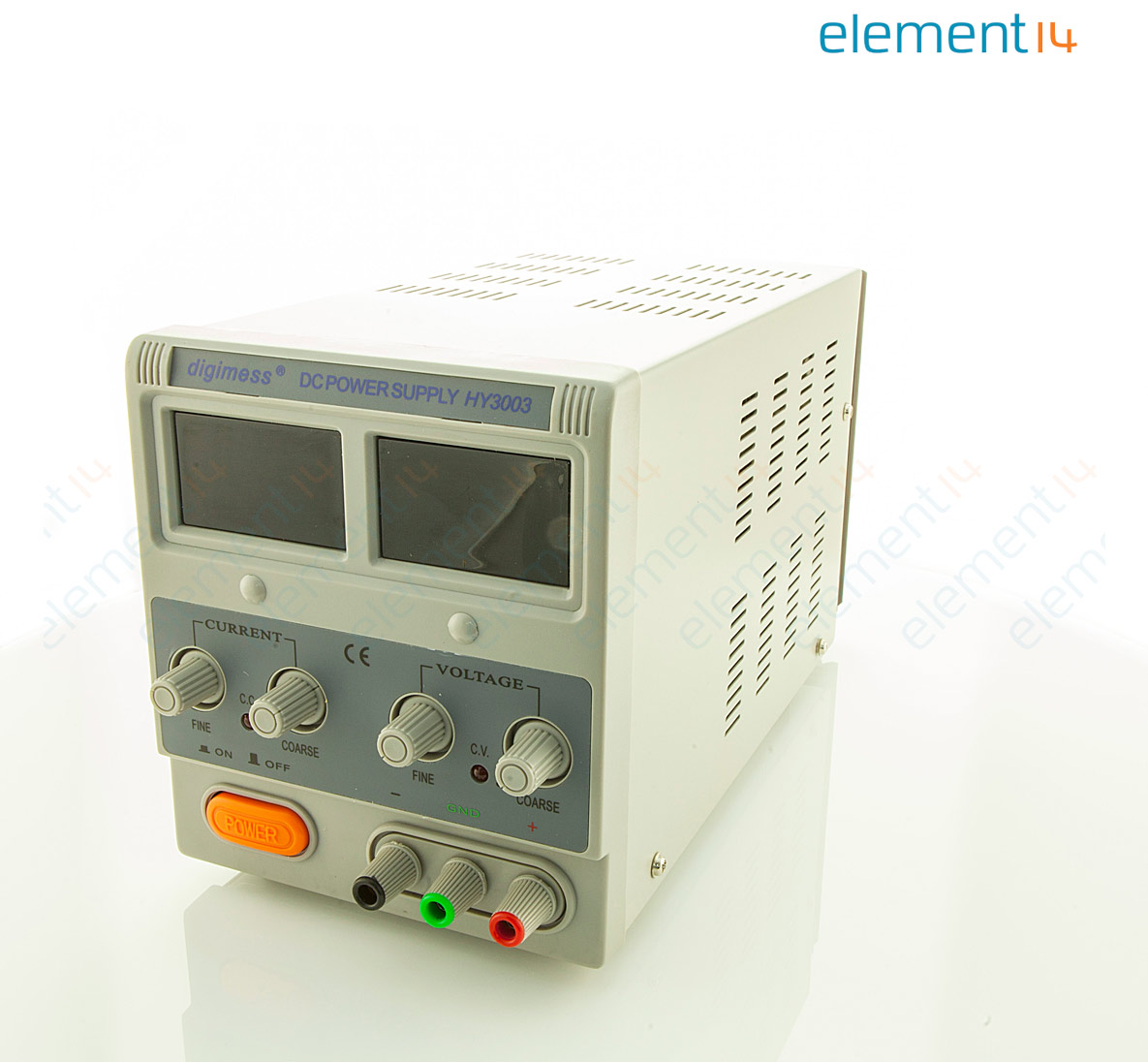 Hy3003 Digimess Bench Power Supply Adjustable 1 Output 0 V 30 V 0 A 3 A Element14