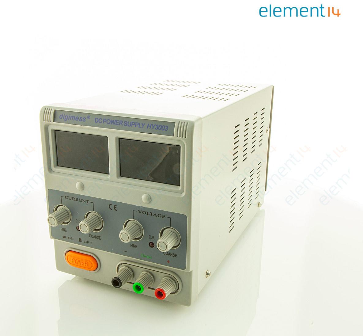 Hy3003 Digimess Bench Power Supply Adjustable 1 Output 0 30v0 2a Voltage And Current Regulator V 30 A 3