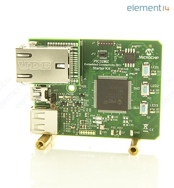 DM320006-C - MICROCHIP - Starter Board, PIC32MZ EC Ethernet PHY