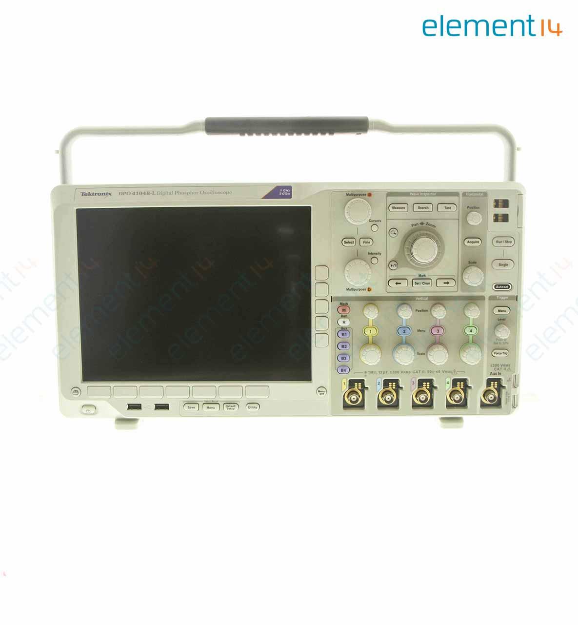 Dpo4104b L Tektronix Oscilloscope 4 Channel 1 Ghz R Integrated Circuit Tester Ic Led Test Optocoupler Richmedia 9400b En