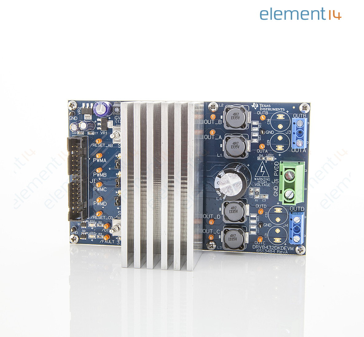 Drv8432evm Texas Instruments Evaluation Module Drv8432 12a Dual Electronics Learning Circuits Webonly Products Technology Add To Compare