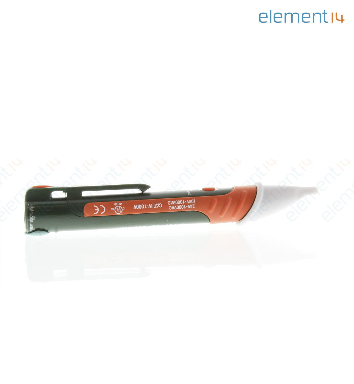 how to use extech ac voltage detector