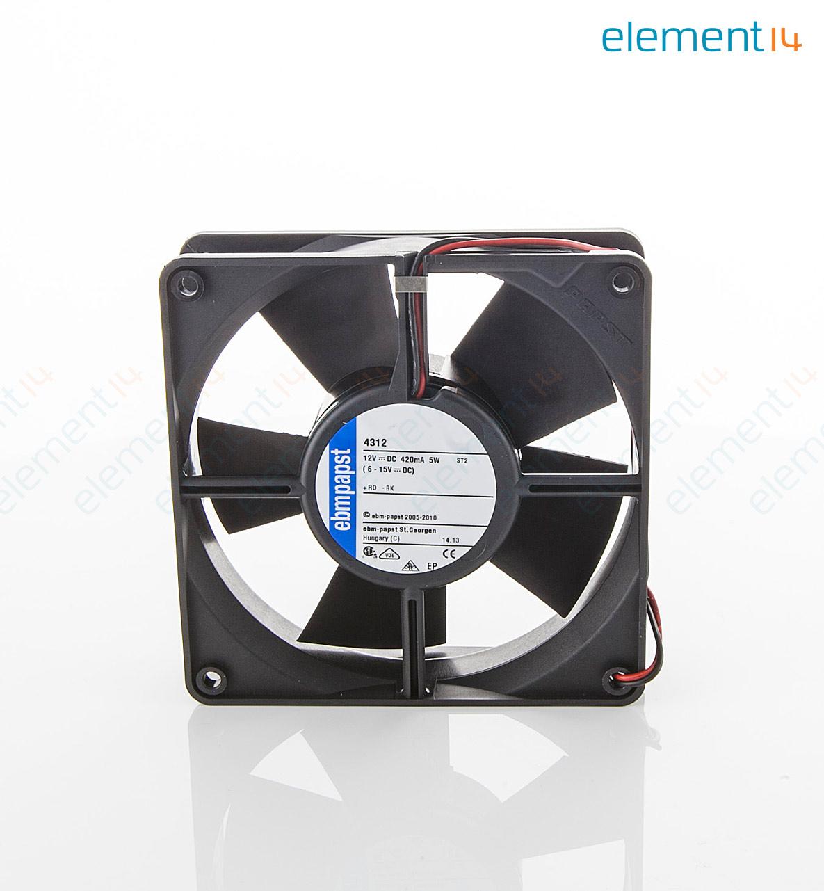 12 Axial Fan : Ebm papst axial fan series v