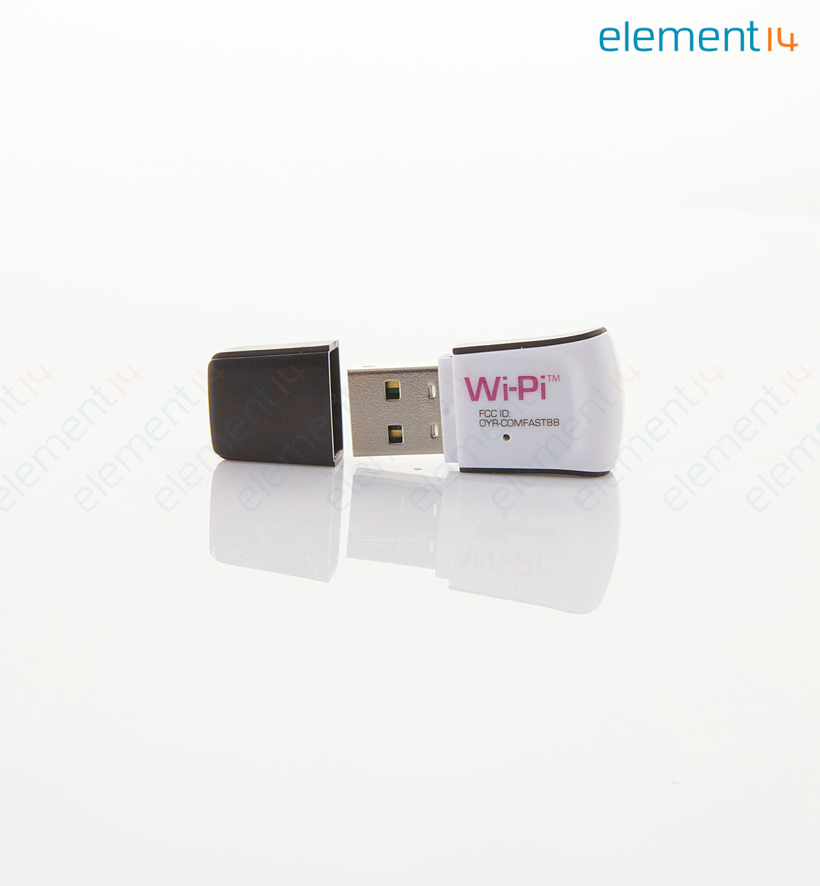 WIPI - WLAN USB Module, IEEE 802 11n, Connect Raspberry Pi to WiFi Network,  Built in Smart Antenna
