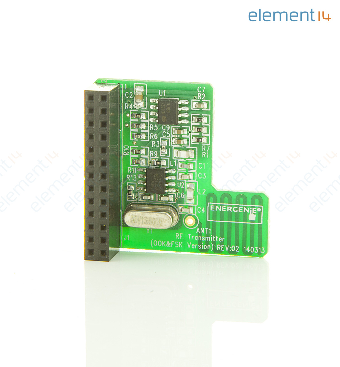 Ener314 Energenie Daughter Board Pi Mote Control Rf Electronics Learning Circuits Webonly Products Technology Add To Compare