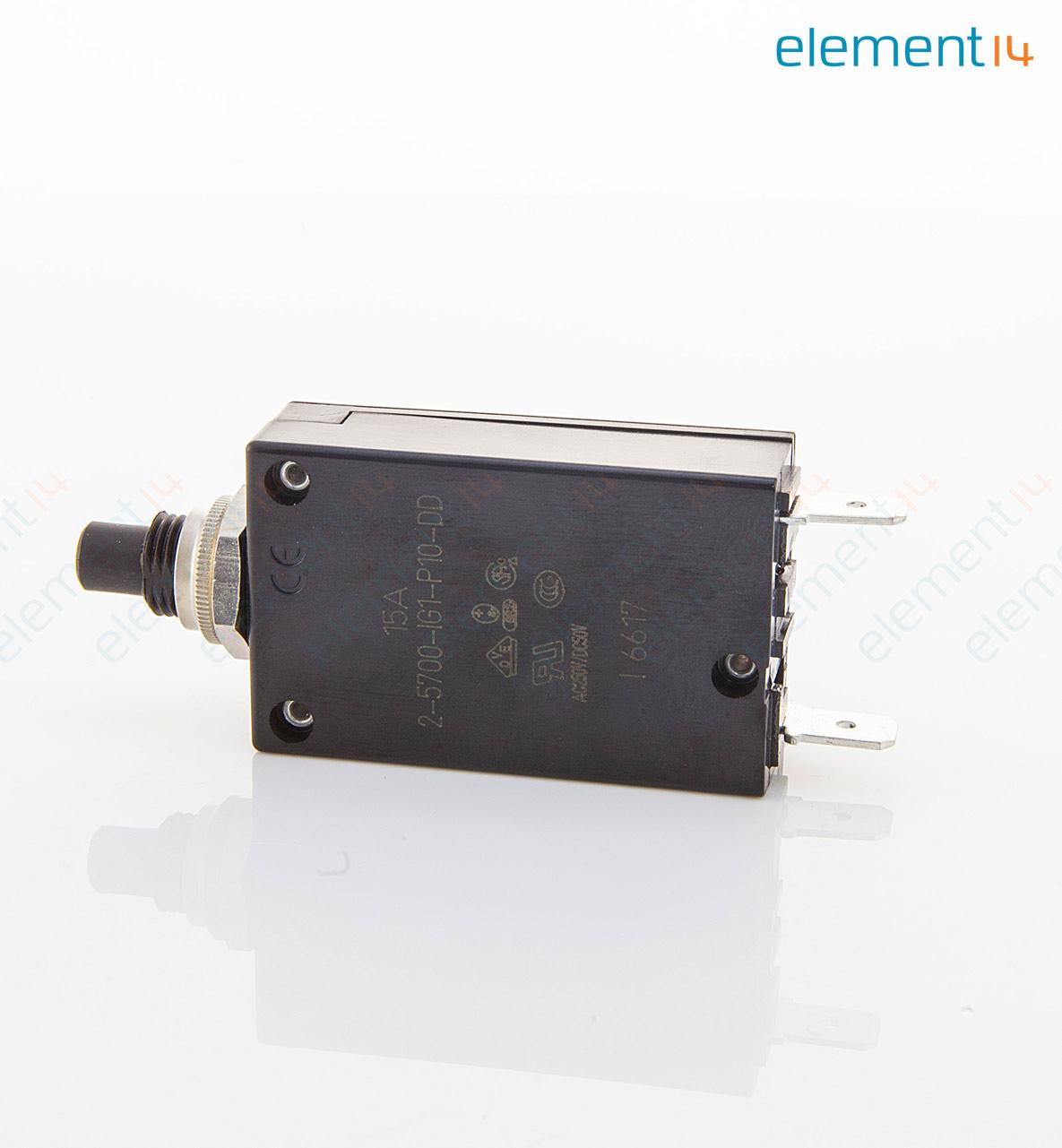 2-5700-IG1-P10-DD-000040 15A ETA, Thermischer Schutzschalter ...