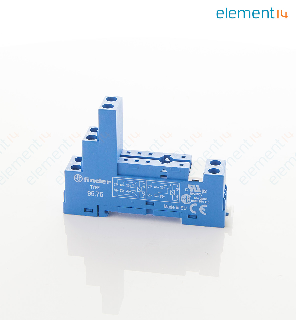 finder relay 8 pin diagram best wiring library  95 75sma finder, relay socket, din rail, panel add to compare