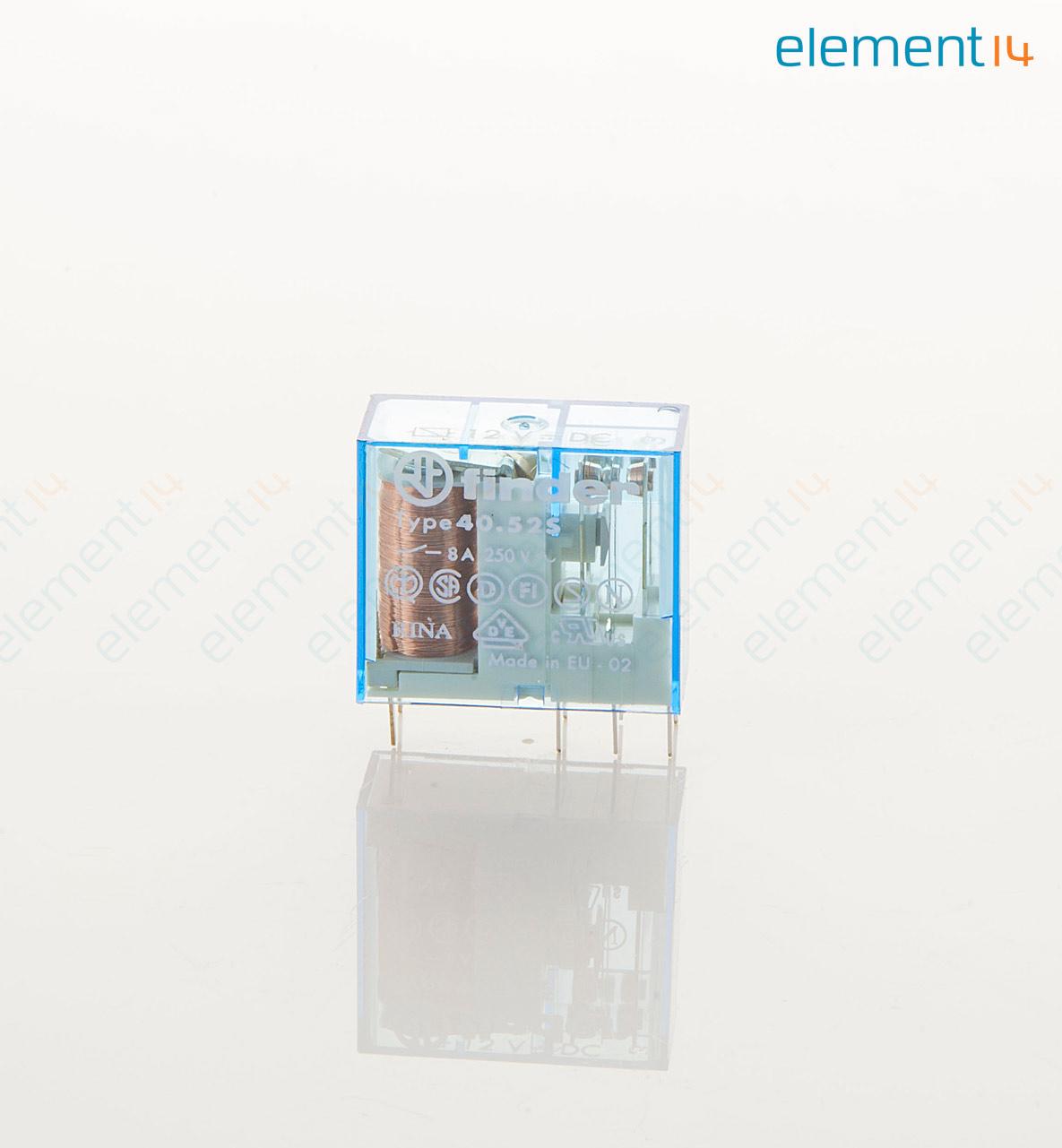 405270120000 Finder General Purpose Relay 40 Series Power Dpdt Latching 12vdc Richmedia 378kb En