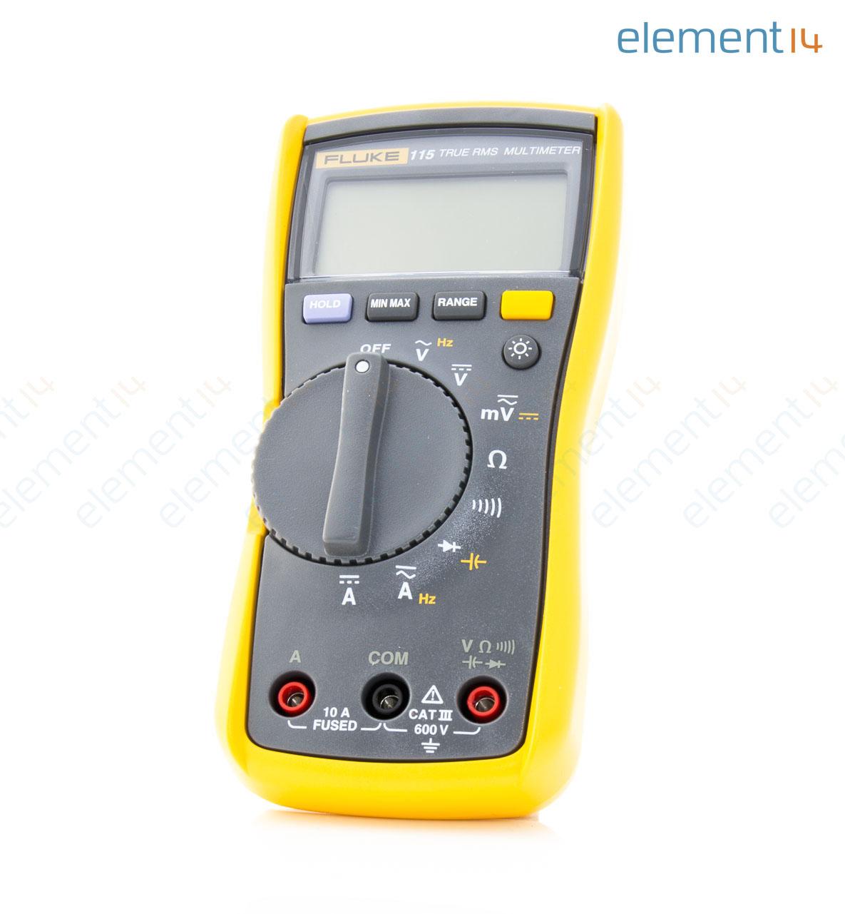 Fluke 115 Multimeter : Fluke technicians digital multimeter