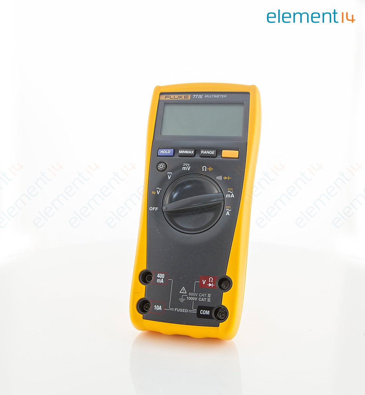 fluke 77 4 fluke handheld digital multimeter fluke 80 series rh newark com fluke 77 manual series ii fluke 77 multimeter manual