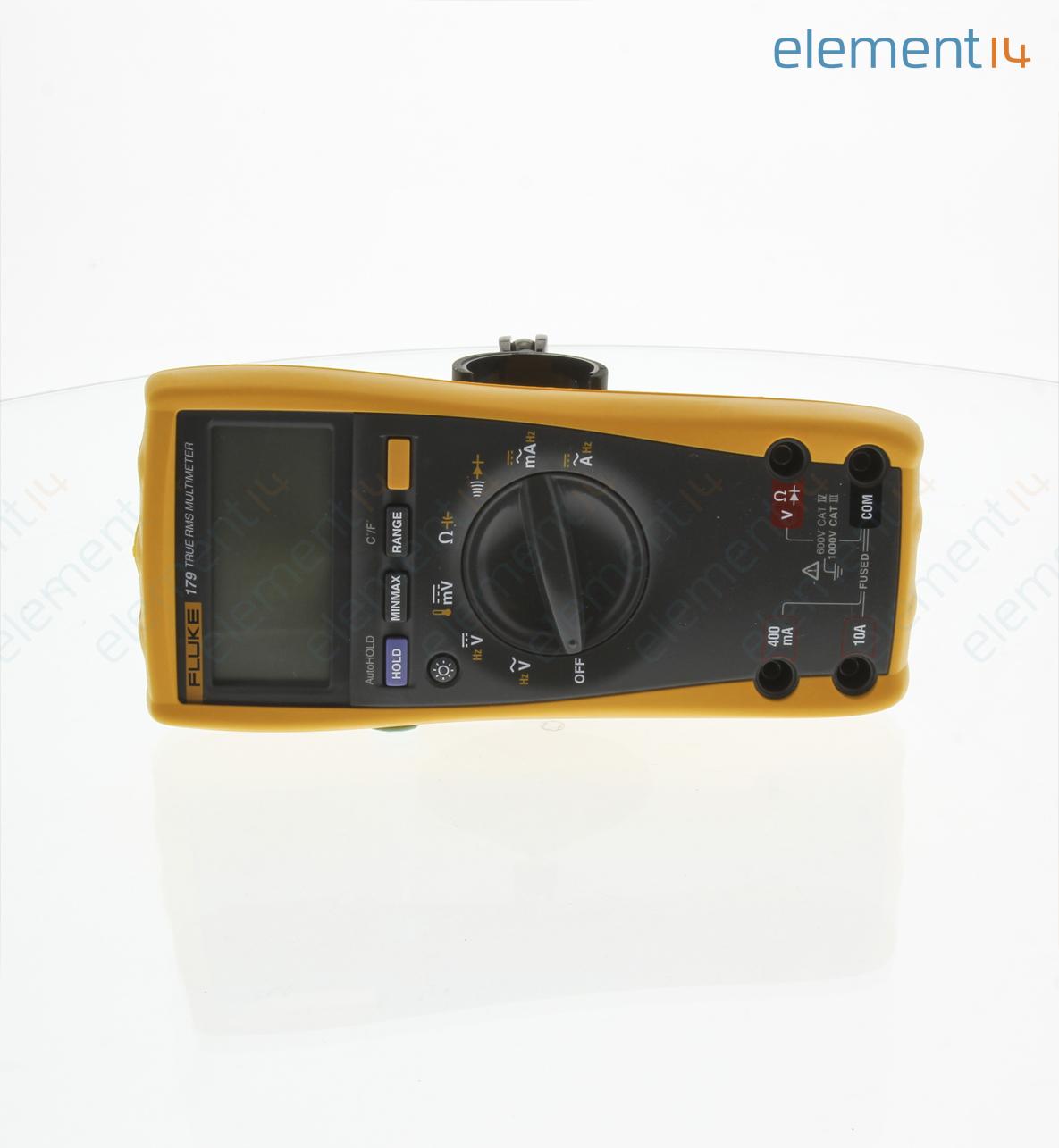 Handheld Digital Multimeter, 170 Series, 6000 Count, True RMS, Auto, Manual  Range, 3 75 Digit