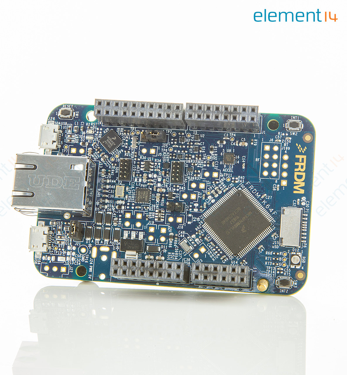 Frdm K64f Nxp Development Board Mk64fn1m0vll12 Ethernet Usb Pcb Layout For Interfacing Accelerometer To Microcontroller Richmedia 361kb En