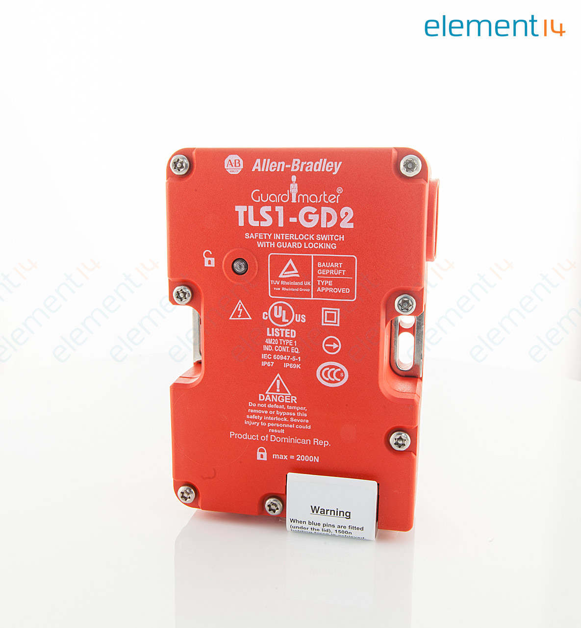 GUARDMASTER 440G T27121 big 01 440g t27121 guardmaster, safety interlock switch, screw, 500 v, 5 tls1-gd2 wiring diagram at gsmx.co