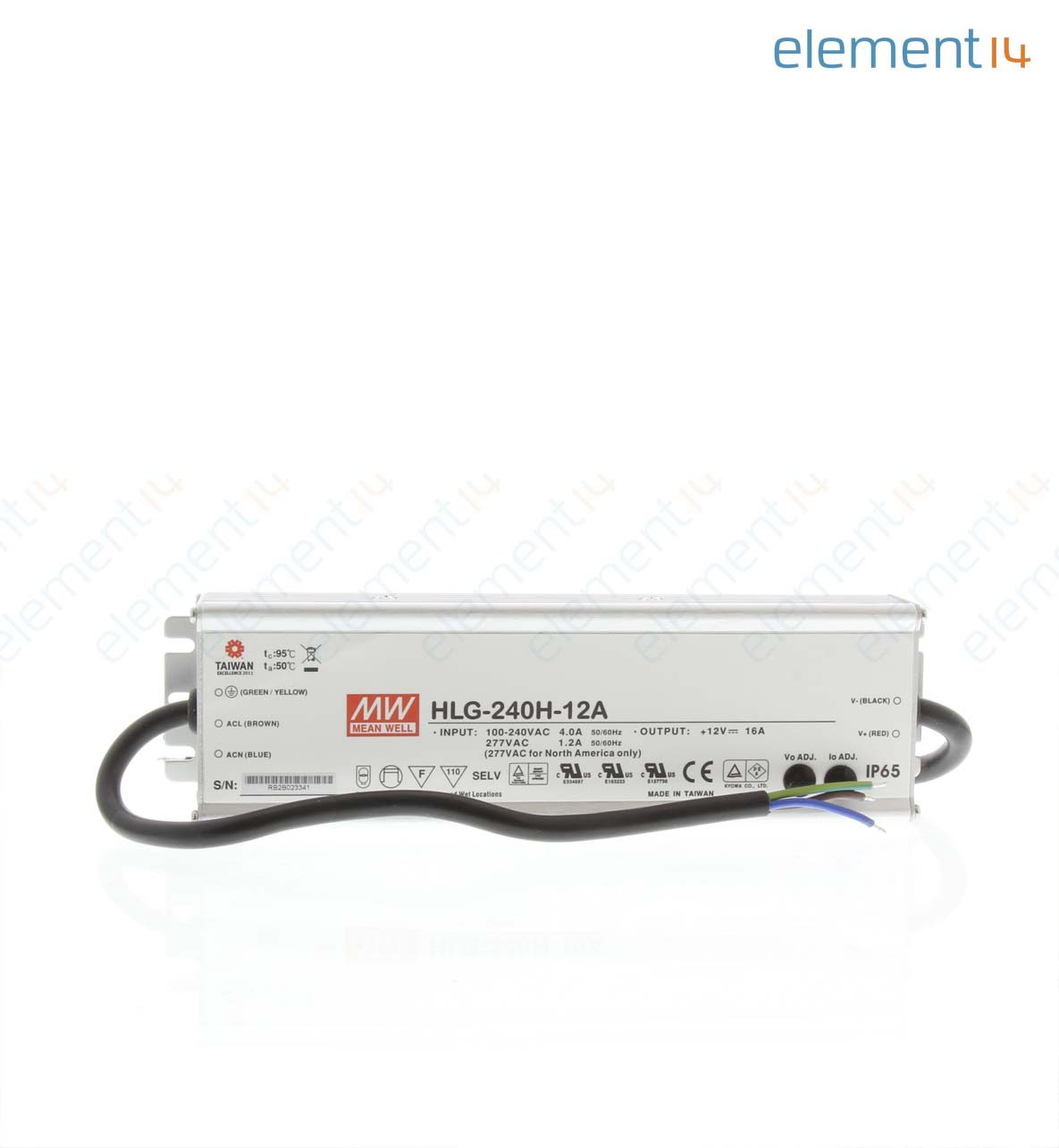 Hlg 240h 12a Mean Well Led Driver Ite 192 W Smps 50 Watt Street Light Circuit Electronic Add To Compare