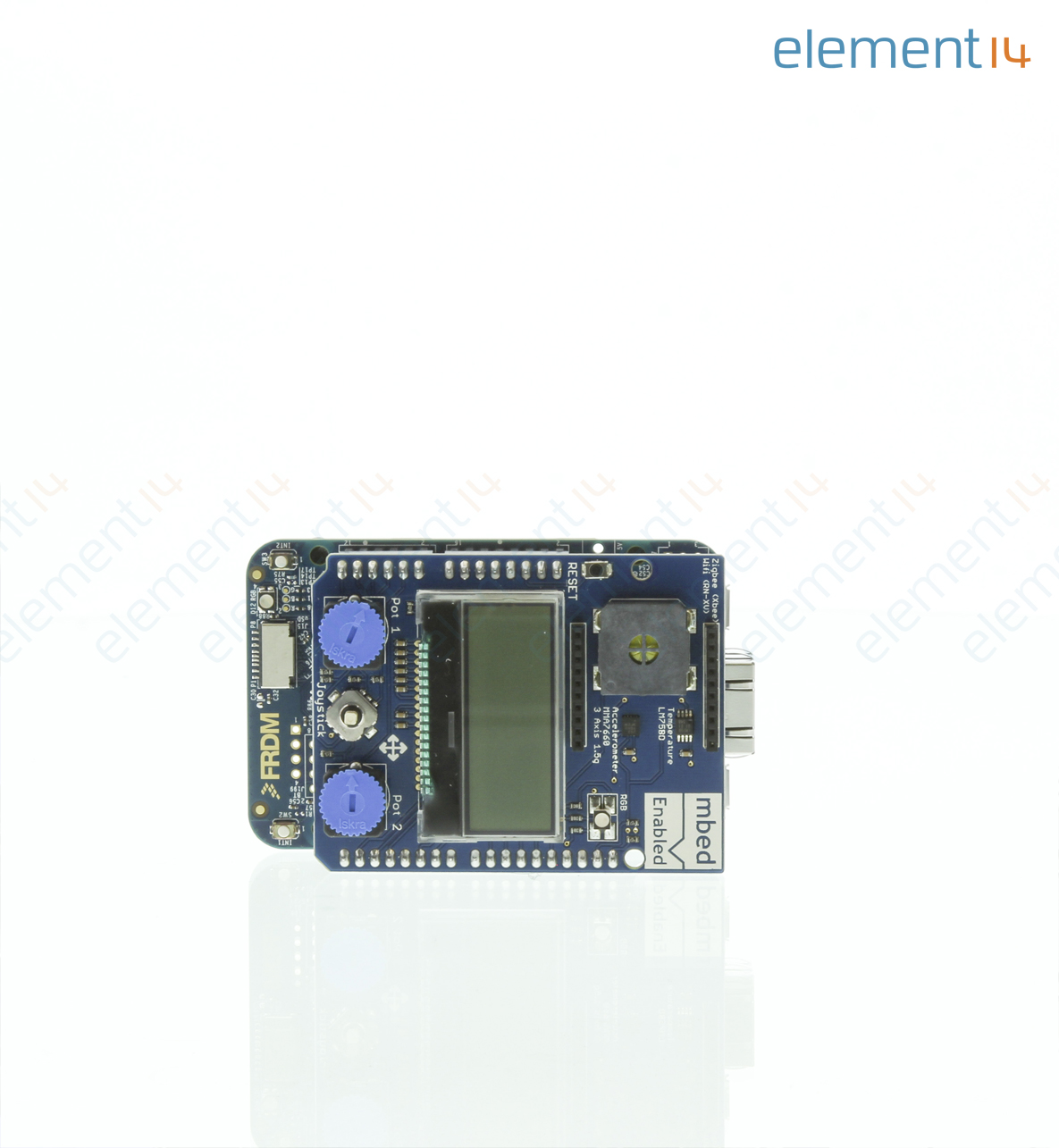 Starter Kit Development Board IOT, IBM-MBED, 32bit, High Performance 120MHz  CPU