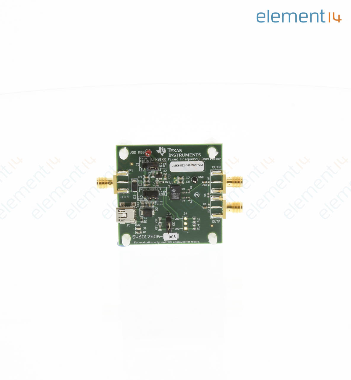 Lmk61e2 100m00evm Texas Instruments Evaluation Board Ultra Low Circuit We Assemble With The Exception Of Rohscompliant Boards