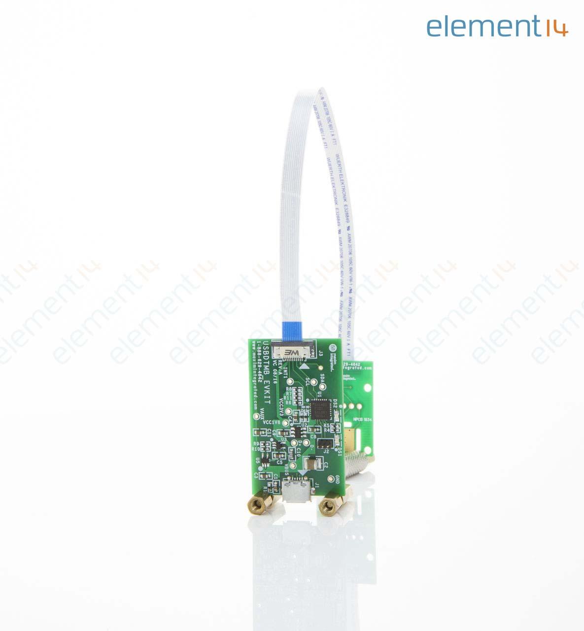 Evaluation Kit, MAX30105 Human Body Temperature Sensor, Smoke Detection  Applications